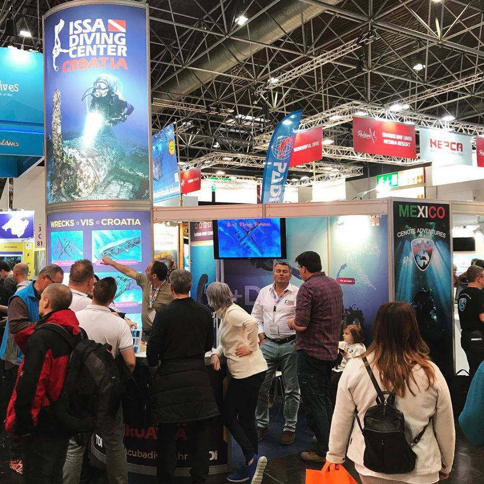 ISSA Diving Center at DüSSELDORF Boot show